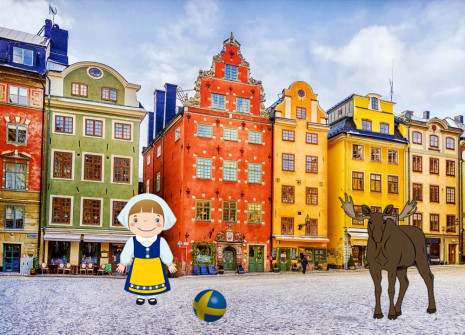 Get away from it all for the month of Sweden on Birdrama!